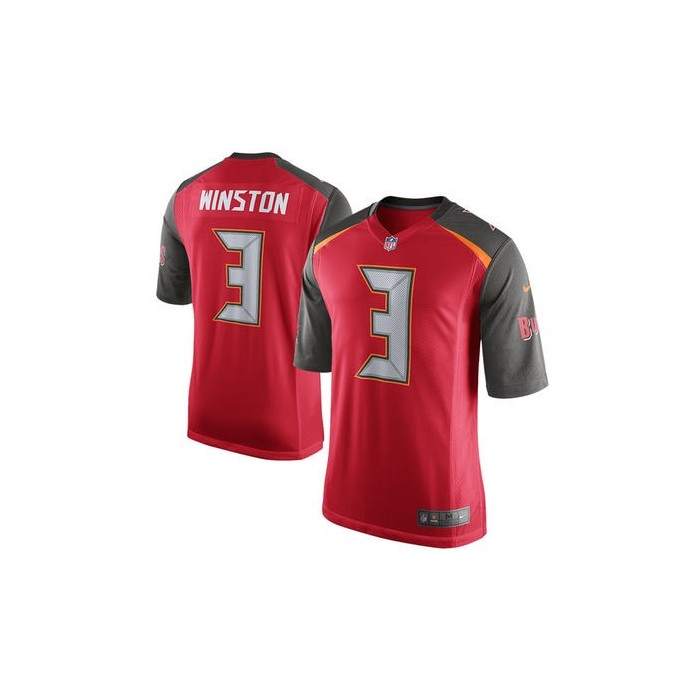 online retailer dbcff 852b9 Tampa Bay Buccaneers Nike Youth Game Jersey - Red