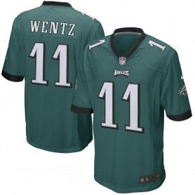 the latest b6bbc 1ee8e Philadelphia Eagles Nike Game Jersey - Carson Wentz
