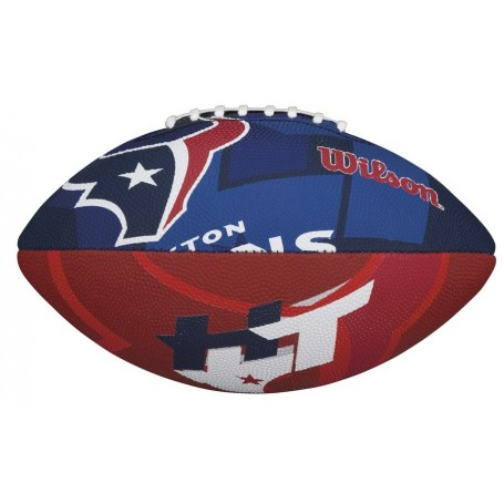 Houston Texans Wilson NFL Team Logo Junior Football