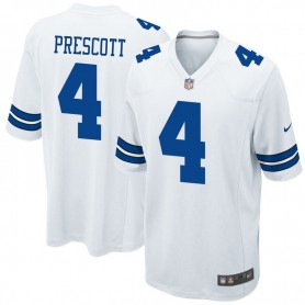 db1ff39ff14af Dallas Cowboys Nike Team Color Game Jersey - White