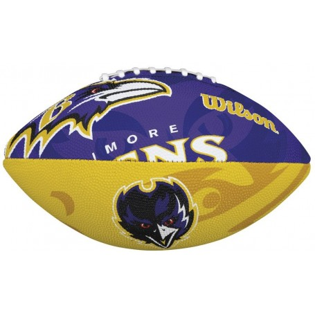 Baltimore Ravens Wilson NFL Team Logo Junior Football