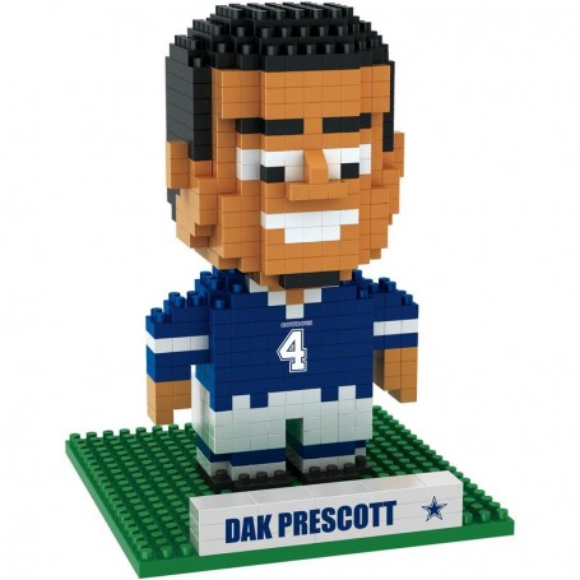 Dallas Cowboys Dak Prescott Lettore 3D BRXLZ Puzzle Set