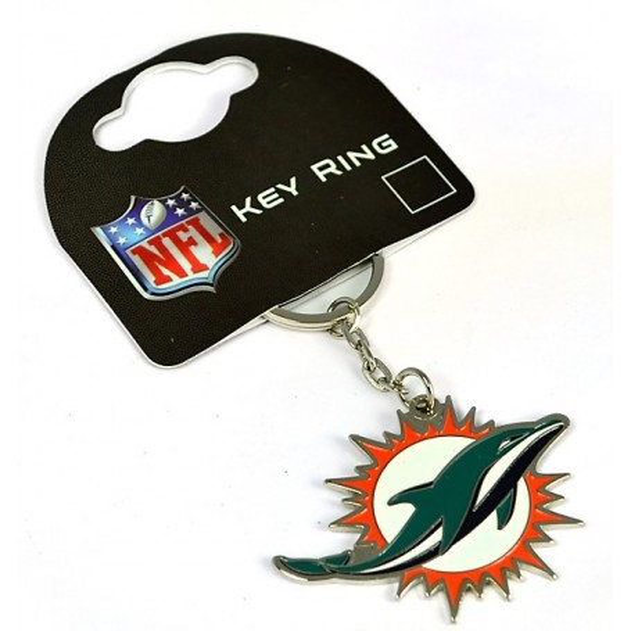 Miami Dolphins Crest Schlüsselring
