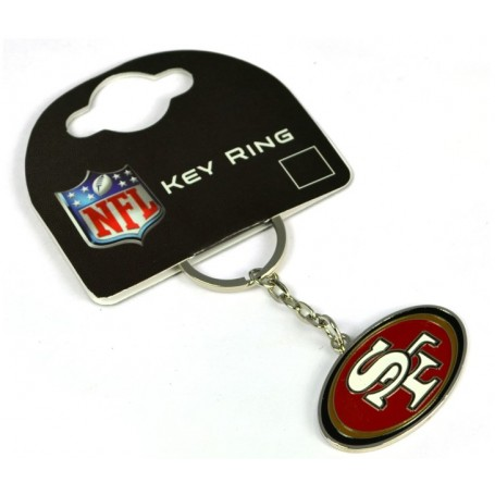 San Francisco 49ers Crest Key Ring