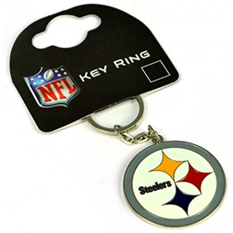 Pittsburgh Steelers Crest Key Ring