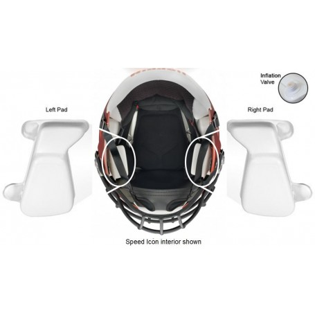 Speed Icon Inflatable Jaw Pads