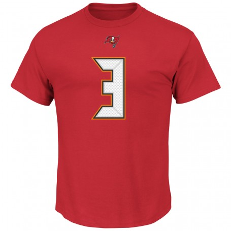 Tampa Bay Buccaneers Official Name and Number Player T-Shirt