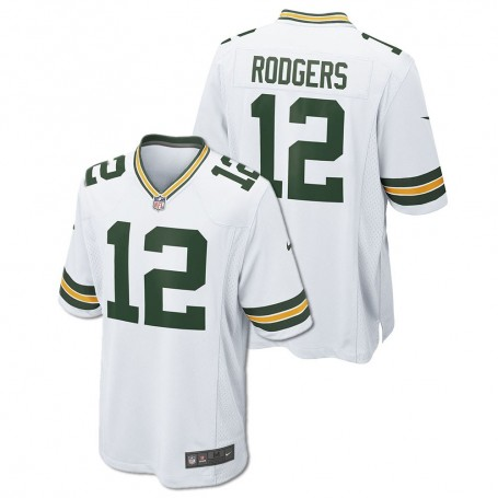 2217238ea Green Bay Packers Nike Game Jersey - White