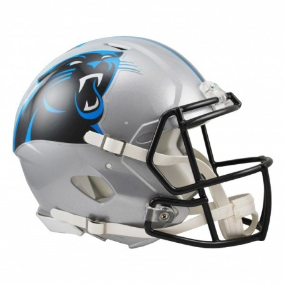 Carolina Panthers En Tamaño Completo Riddell Speed Réplica De Casco