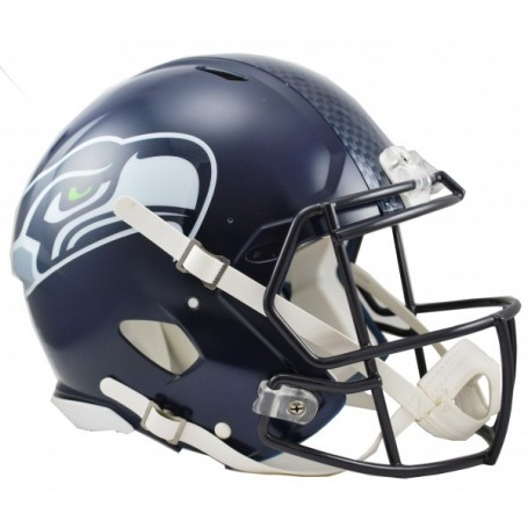 Seattle Seahawks Full Size Riddell Speed-Replica-Helm