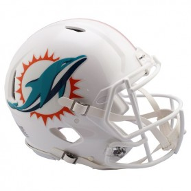 timeless design 0f150 af38d Miami Dolphins (2018) Full-Size Riddell Revolution Speed Authentic Helmet