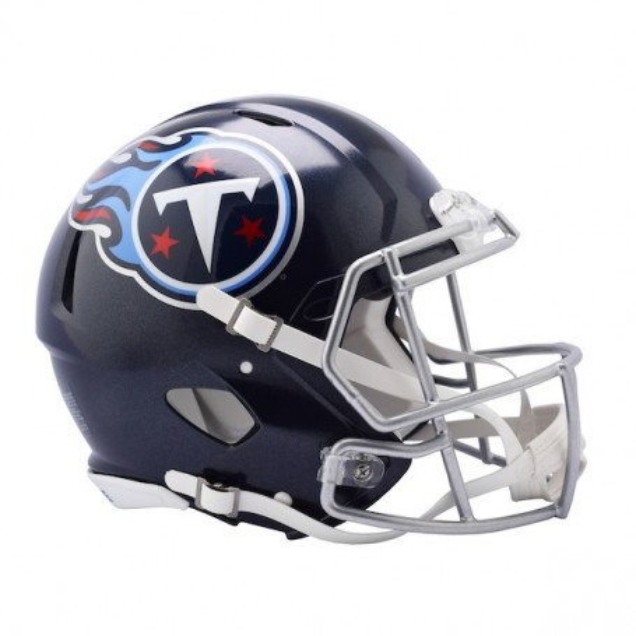 Tennessee Titans (2018) Full-Size Riddell Revolution Speed Authentic Helmet
