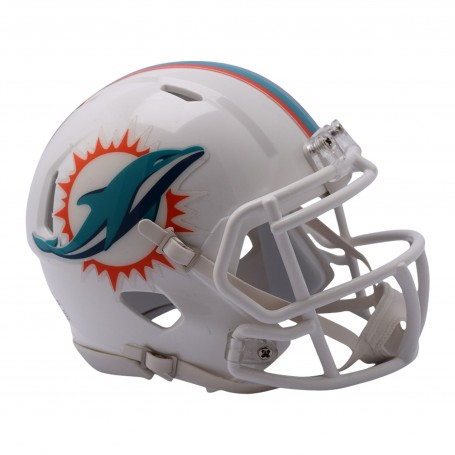 Miami Dolphins (2018) Mini Speed Helmet