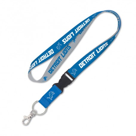 "Detroit Lions 1"" Lanyard w/ Abnehmbare Schnalle"