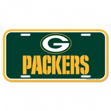 Green Bay Packers License Plate