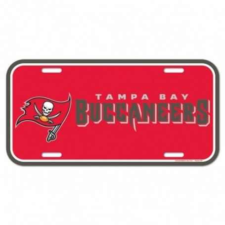 Tampa Bay Buccaneers License Plate