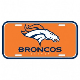 Denver Broncos License Plate