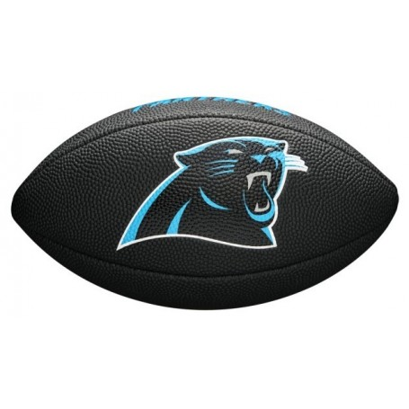 NFL Team Logo Mini Football - Carolina Panthers