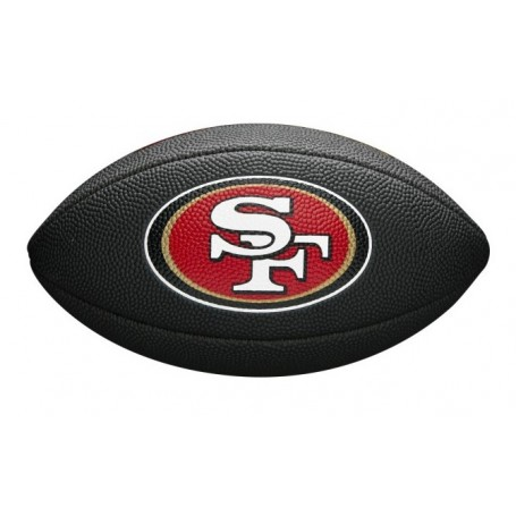 NFL Team Logo Mini Football San Francisco 49ers
