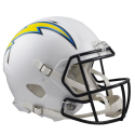 Los Angeles Chargers Full-Size Riddell Revolution Speed Authentic Helmet