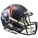 Houston Texans Full-Size Riddell Revolution Speed Authentic Helmet