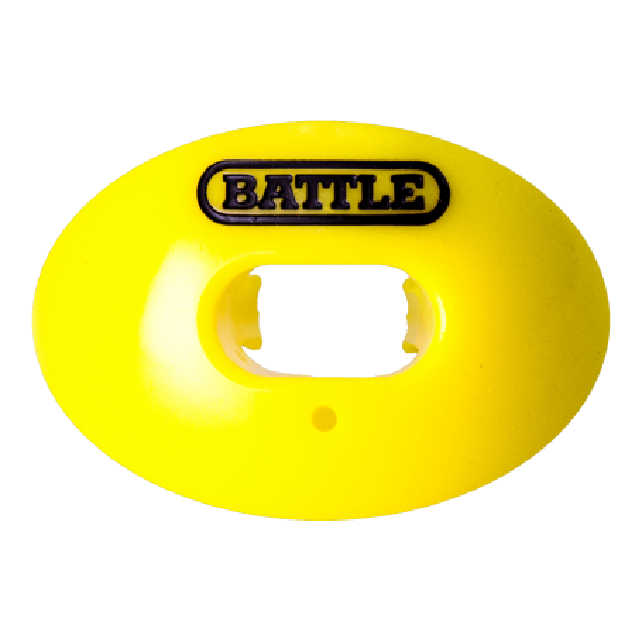 Protector bucal de fútbol con correa convertible Battle Oxygen