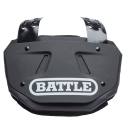 Battle Youth Football Black Back Plate