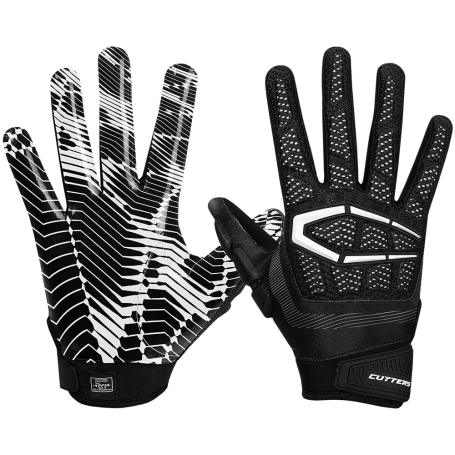 8f8f1919c53c Cutters Gamer 3.0 Padded Receiver Gloves