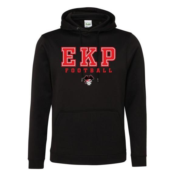 Denver Broncos Chrome Clock
