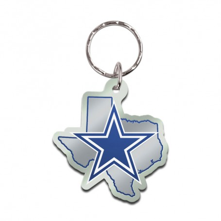 Dallas Cowboys State Key Chain