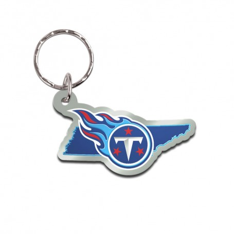 Tennessee Titans State Keychain