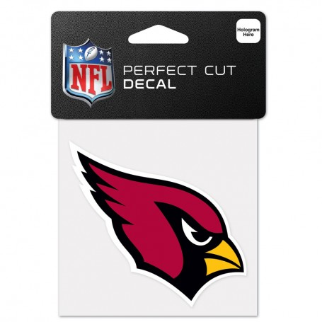 "Arizona Cardinals 4"" x 4"" Logo Decal"