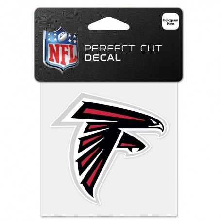 "Atlanta Falcons 4"" x 4"" Logo Decal"
