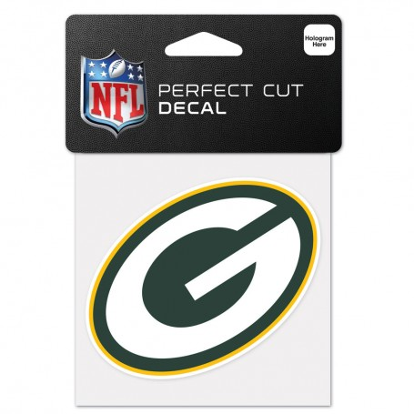 "Green Bay Packers 4"" x 4"" Logo Decal"