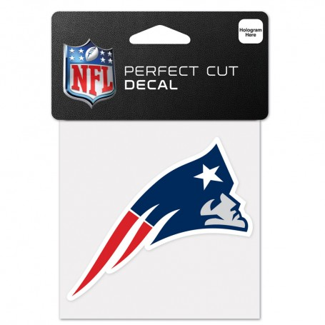 "New England Patriots 4"" x 4"" Logo Decal"