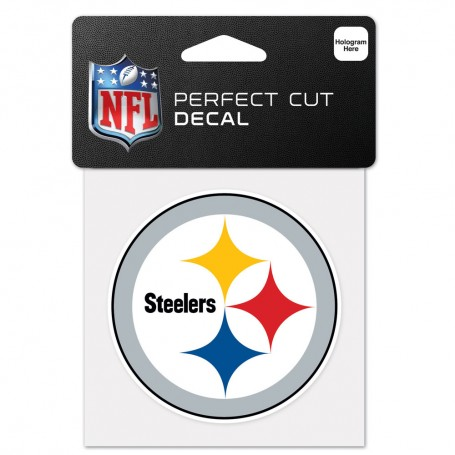 "Pittsburgh Steelers 4"" x 4"" Logo Decal"
