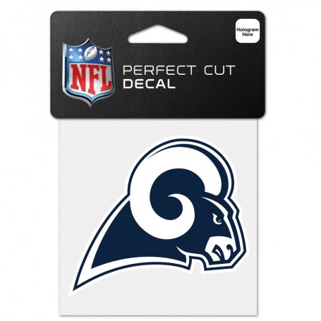 "Los Angeles Rams 4"" x 4"" Logo Decal"