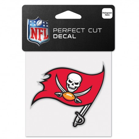"Tampa Bay Buccaneers 4"" x 4"" Logo Decal"