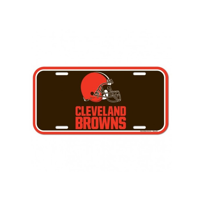 0ee36452 Cleveland Browns License Plate
