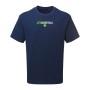 Réplica del casco AMP Alternate Mini Speed de Los Angeles Rams