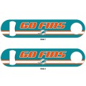 Miami Dolphins Metal Bottle Opener