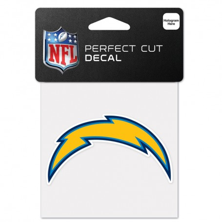 "Los Angeles Chargers 4"" x 4"" Logo Decal"
