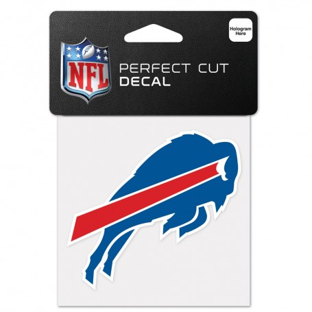 "Buffalo Bills 4"" x 4"" Logo Decal"