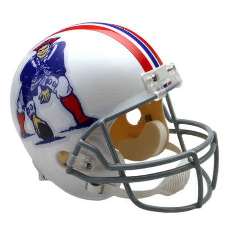 New England Patriots Mini VSR4 Throwback 65-81