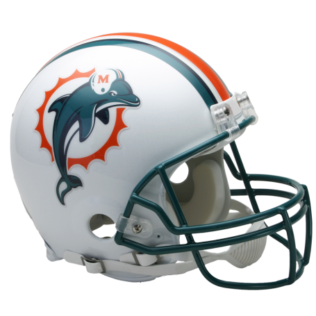 Miami Dolphins Mini VSR4 Throwback 97-12