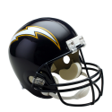 Los Angeles Chargers Mini VSR4 Throwback 88-06
