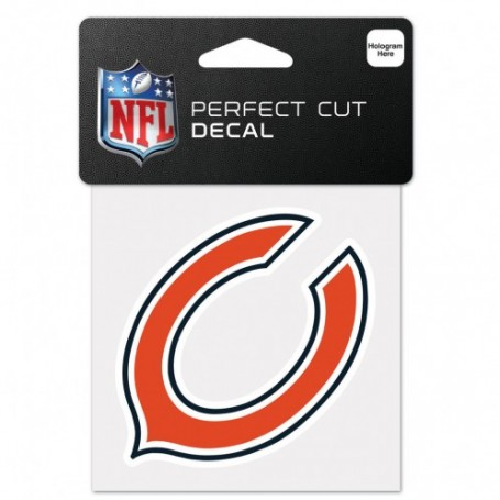 "Chicago Bears 4"" x 4"" Logo Decal"