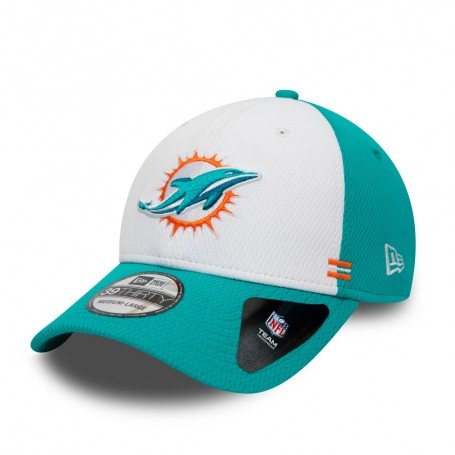 Miami Dolphins Offizielle NFL Home Seitenlinie 39Thirty Stretch Fit