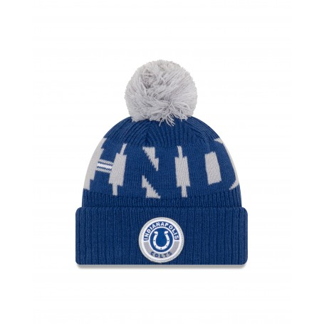 Indianapolis Colts New Era NFL Sideline 2020 On Field Sport Knit
