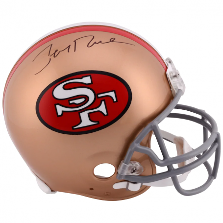 Jerry Rice San Francisco 49ers Autographed Riddell Pro-Line Authentic Throwback Helmet